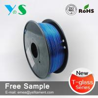 Cheap PETG 3.0mm Blue with 3d printing filament for 3d filaments makebot for sale