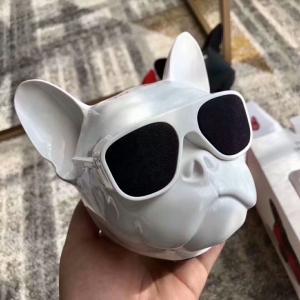 Cheap Jarra Aero Ball Nano Bluetooth Wireless Pug Dog Speaker White made in chian grgheaadsets .com for sale