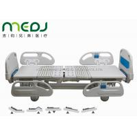 Cheap ICU Electric Hospital Bed , Multifunctional Electric Medical Bed Sickbed for sale