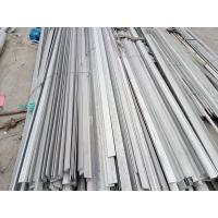 Cheap SUS 304 Hairline / Brush  /Satin Stainless Steel Flat Bar With 1000mm-6000mm Length for sale