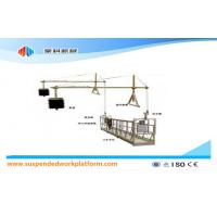 Cheap Aluminium Alloy / Steel / Hot Galvanized Suspended Access Equipment ZLP630 wholesale