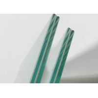 China PVB Colored Laminated Glass Clear Toughened Flat Curved 6mm to 40mm on sale
