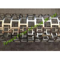 Cheap New Technogy One-Time Forming Mould For Square Hole Perforated Tube SS304 / 316 Material for sale
