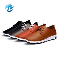 Cheap Good Quality Cheap Price Lace-up PU Shoes Soft Casual Shoes For Men for sale