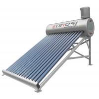 China Low pressure horizontal all glass evacuated tube solar thermal collector on sale