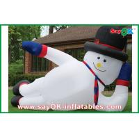 China Giant Christmas Inflatable Decoration Snowman Inflatable Holiday Decorations on sale