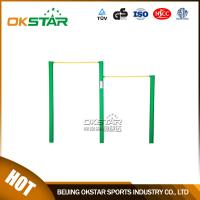 Cheap outdoor gym equipment Public Park Used Outdoor Simple Fitness Equipment Uneven Bars for sale
