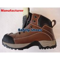 cheapest Men's steel toe safety shoes  Cow split leather safety shoes safety boots