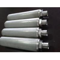 Buy cheap customized 5 layer stainless steel 316L wire mesh 5 micron sintered metal filter from wholesalers