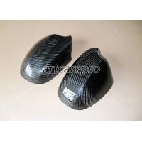 China Carbon Fiber Side Door Rear View Mirror Cover Trim For BMW 3 series E90 2009-2012 on sale