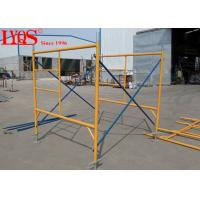 High Strength Durable Ladder Frame Scaffolding For Hall / Bridges 4'×6'4