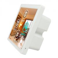 Cheap Alexa Compatible WIFI Smart Wall Light Switch 86 * 86 * 38mm WIFI And RJ45 Support for sale