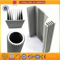 Silver White Industrial Powder Coated Aluminium Extrusions Heat Insulation for sale