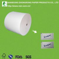 China PE coated paper in roll for sugar wrapping on sale