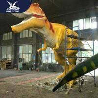 Cheap Waterproof Life Size Models Of Animals / Dinosaur Garden Ornaments for sale
