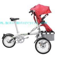 Cheap Baby Stroller Bike Comfortable Design Iron / Plastic PU PVC Baby Tricycle for sale