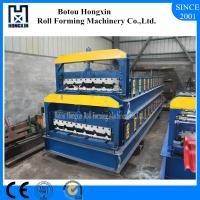 Cheap Automatic Roof Panel Roll Forming Machine , High Speed Metal Roof Forming Machine wholesale