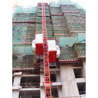 500kg Counter Weight Double Cage Construction Passenger Hoist for Passenger and Goods