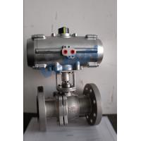 China Rotary Machine  SS304 Stainless Steel Pneumatic Actuator Ball Valve on sale