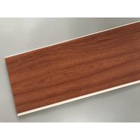 Cheap Eco Friendly PVC Wood Plastic Laminate Panels Flat Shape 250 × 8mm × 5.95m for sale
