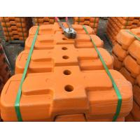 Cheap 610 X 220 X 150mm Safety Orange Australian Temporary Fencing For High Visibility for sale