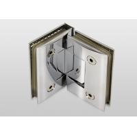 Cheap 90 Degree Wall To Glass Hinges Bracket Screen Hinges Long Time Service Life for sale