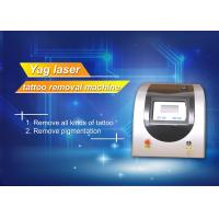 Cheap Q Switch ND YAG Laser Pigment Removal Machine , Salon tattoo removal laser equipment for sale