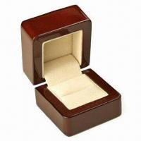 Cheap Wooden Jewelry Box, Measures 85x98x92mm for sale
