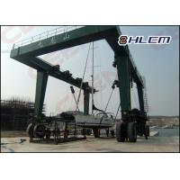Cheap ISO HM350T 300t  / 600t / 800t  travel lift crane for boat hoisting and boat lifting for sale