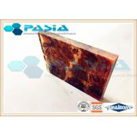 China Shipbuilding Industry Honeycomb Backed Stone Marble Composite Panels Waterproof on sale