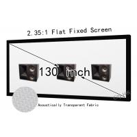 Meeting room 160 projector screen 130 inch acoustically for 130 inch motorized projector screen