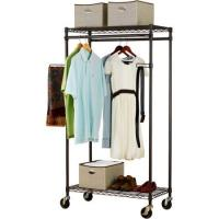 Buy cheap Heavy Duty Commercial Wire Shelving , Garment Wardrobe Metal Wire Racks For Storage from wholesalers