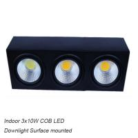 Cheap Inside contemporary 30W COB LED grille light &LED Downlight for hotel for sale