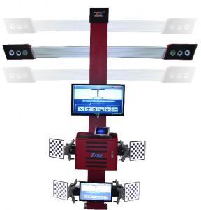 Cheap Truck Tire Two Monitors Tire Alignment Machine , 3D Garage Equipment Wheel Alignment for sale