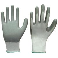 Cheap Nitrile coated nylon gloves for sale