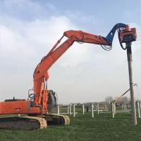 Buy cheap Precision Vibratory Pile Hammer Excavator Hydraulic Pile Driver 3000rpm Piling Equipment from wholesalers