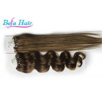 "Cheap Beauty White Girl 15"" 16"" Real Micro Loop Ring Hair Extensions  8# 10# 16# for sale"