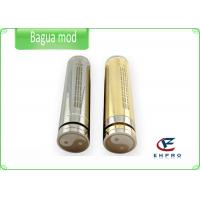 Cheap Portable Mechanical Mod E Cigarette Bagua Clones With Stainless Steel / Brass for sale