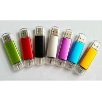 Buy cheap smartphone usb flash drive OTG metal USB flash memory drives 4GB / 8GB from Wholesalers