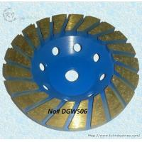 Cheap Thickened Turbo Diamond Cup Grinding Wheel for Concrete - DGWS06 for sale