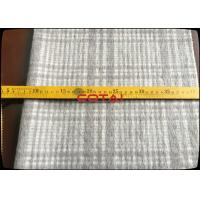 Buy cheap Manufacturer Light Pink 15cm Whole Plaid/Tartan 60% wool soft woven wool fabric from wholesalers