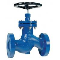 Quality Globe Soft Seated Stop Valves PN 16 , Flanged Globe Valve Ends DIN 2533 Face To Face wholesale