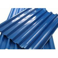 Cheap 0.4 - 10mm Thick Color Coated Aluminum Corrugated Metal Roofing Sheets for sale