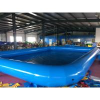 Cheap Customized  Logo PVC Swimming Pool Removable And Portable Above Ground PVC Pools for sale