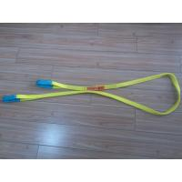 Quality 1 Inch Duplex Webbing Sling , Polyester Webbing Lifting Slings With Orange Label wholesale