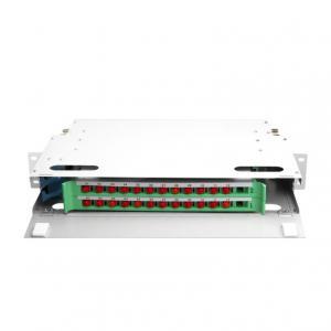 China 24 48 Port SC FC ST LC Optical Fiber Distribution Frame on sale