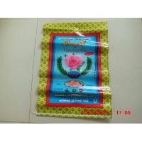Cheap Multi Layer Poly Bags With Hangers , Plastic Woven Rice Bags 25kg 50kg for sale