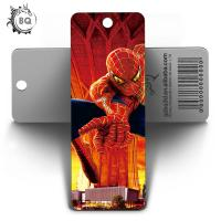 Cheap Amazing 3D Lenticular Bookmark Printing / Personalised Bookmarks For Schools for sale