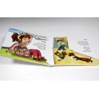 Cheap Cartoon A5 Custom Board Book Printing Art Paper For Children Playing for sale