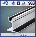 Din 536 59R 60R Grooved Steel Crane Rail , 12M Length EN14811 2006